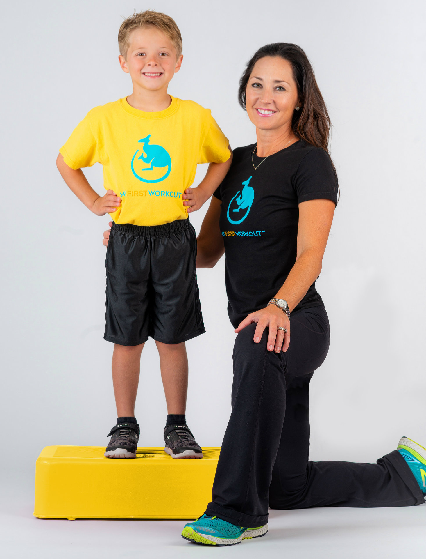 Michelle Miller and her son, Cole